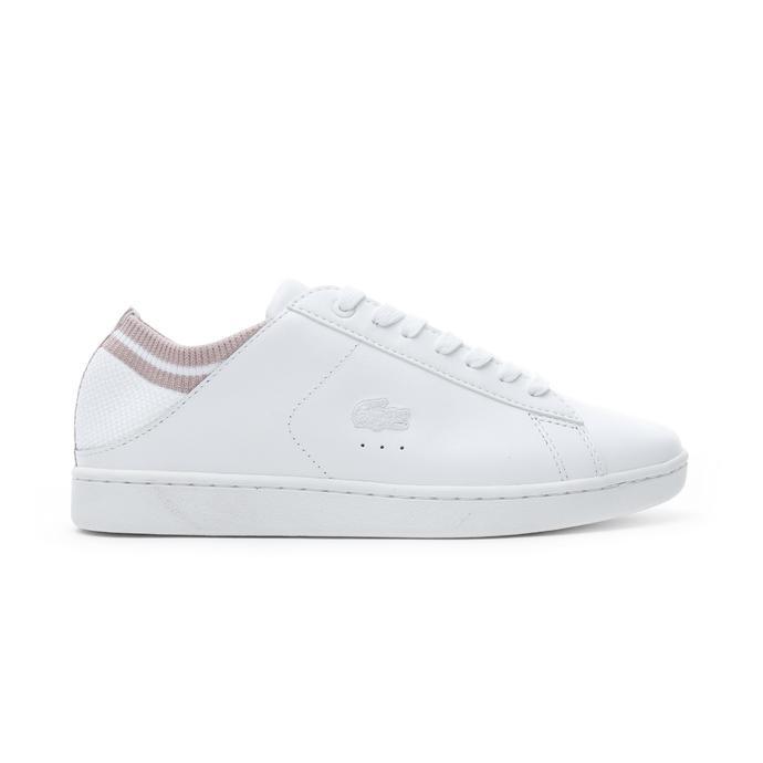 Lacoste Carnaby Evo Duo Kadın Beyaz Günlük Ayakkabı
