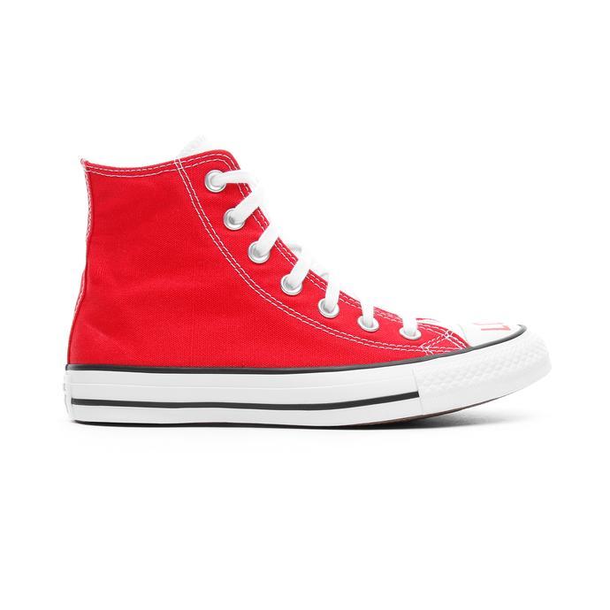 Converse Love Fearlessly Chuck Taylor All Star Hi Kadın Kırmızı-Beyaz Sneaker