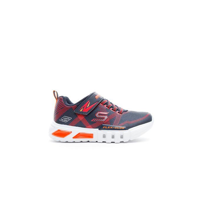 Skechers Flex Glow Çocuk Lacivert-Kırmızı Spor Ayakkabı