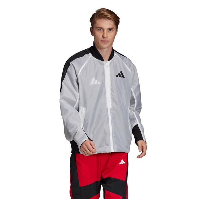 adidas VRCT Oversize Erkek Beyaz Çift Taraflı Ceket