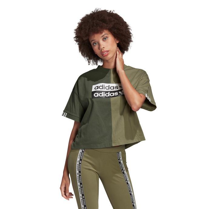 adidas  Kadın Yeşil T-Shirt