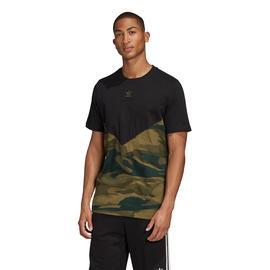 adidas Camo Block Erkek Siyah T-Shirt