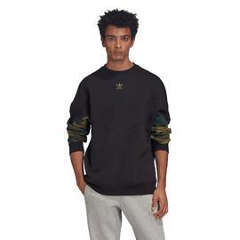 adidas Camo Crew Erkek Siyah Sweatshirt