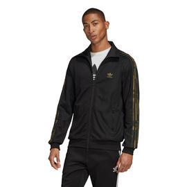adidas Camo Erkek Siyah Fermuarlı Sweatshirt