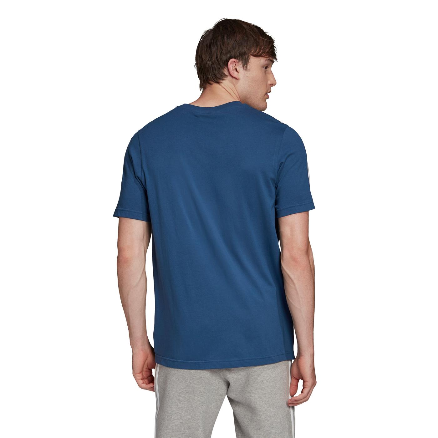 adidas Tech Erkek Lacivert T-Shirt