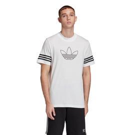 adidas Outline Erkek Beyaz T-Shirt