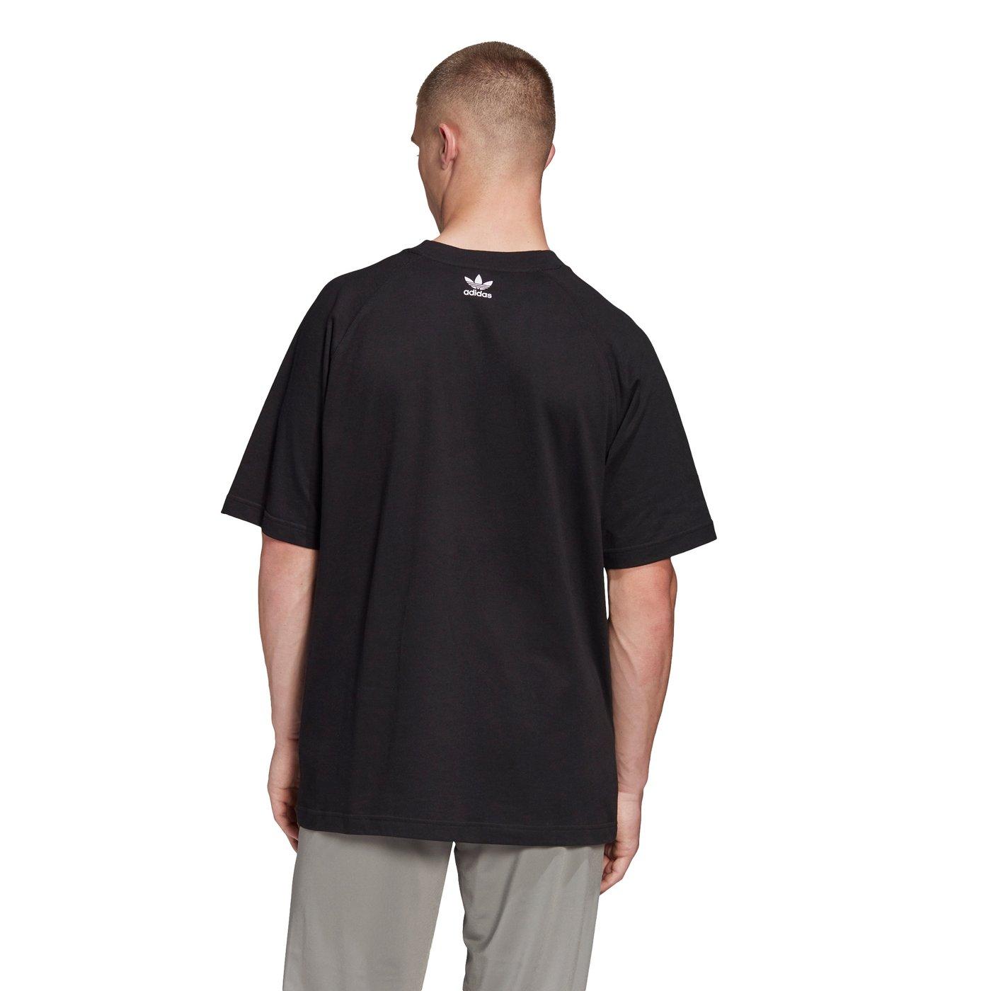 adidas BG Trefoil Erkek Siyah T-Shirt