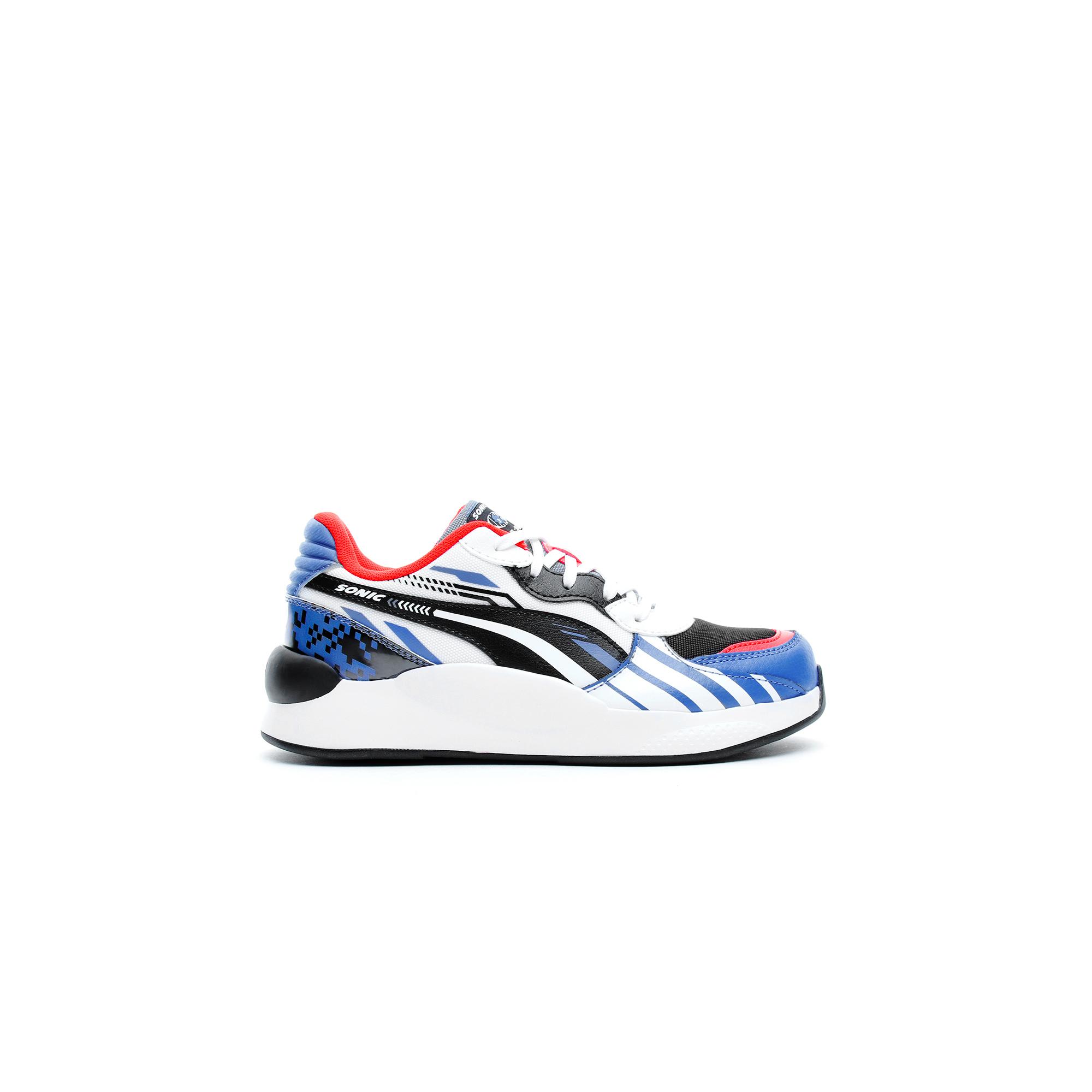 Puma SEGA RS 9.8 Sonic Çocuk Beyaz-Mavi Spor Ayakkabı