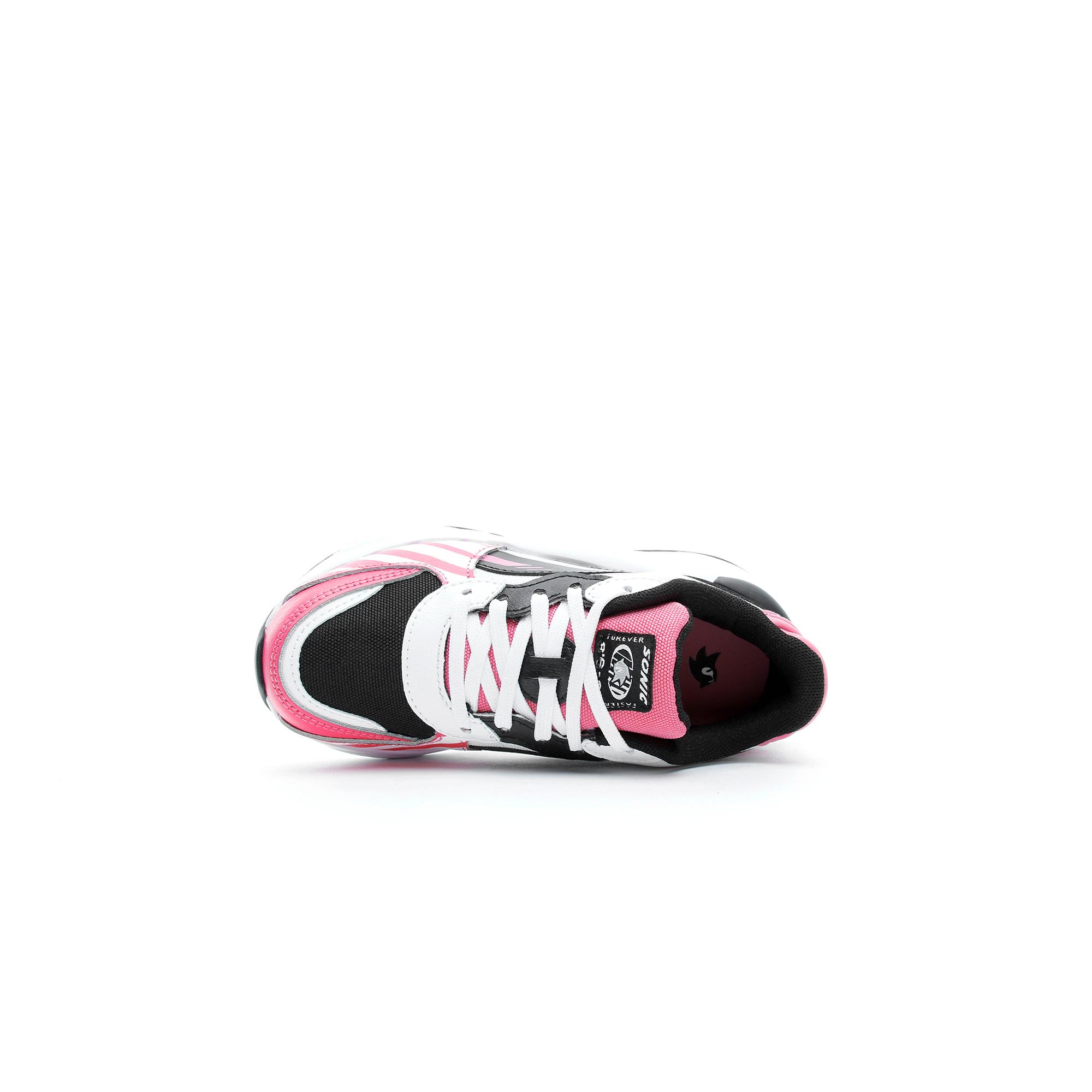 Puma SEGA RS 9.8 Sonic Çocuk Beyaz-Pembe Spor Ayakkabı