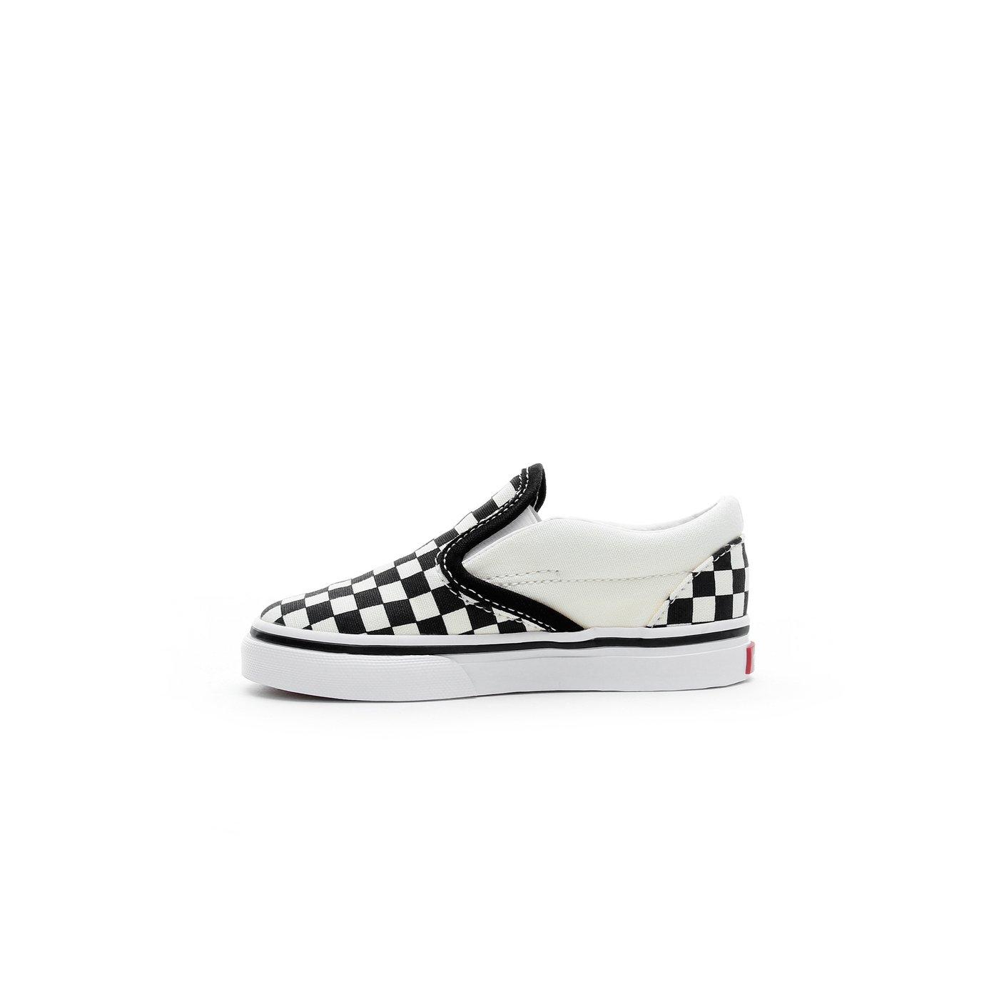 Vans Classic Slip-On Bebek Bej-Siyah Sneaker