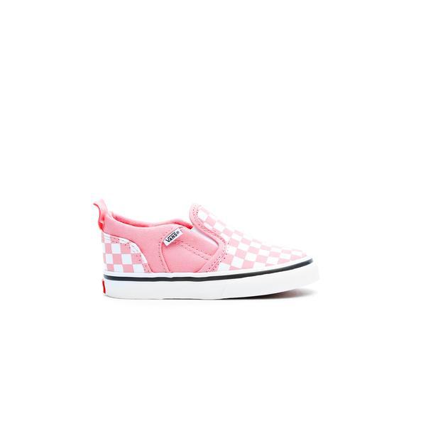Vans Asher V Bebek Pembe Sneaker