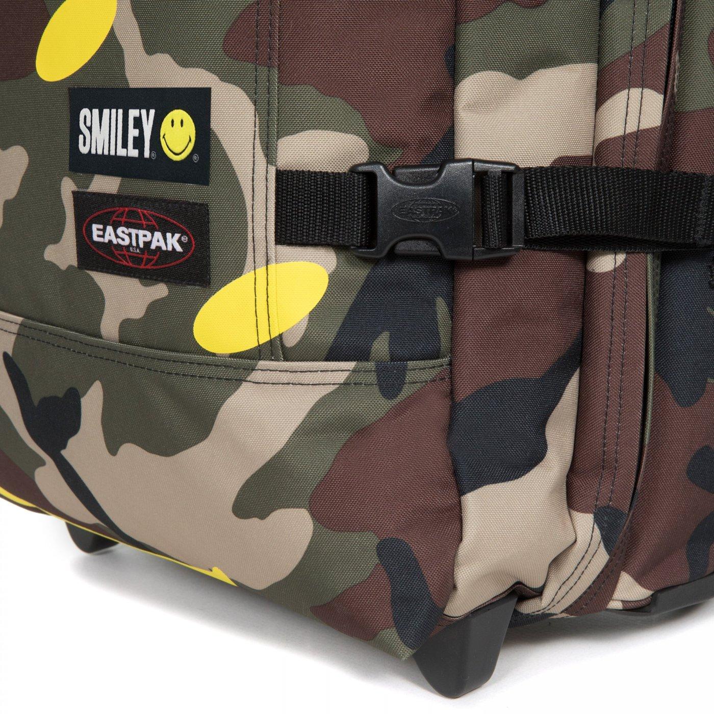 Eastpak Tranverz S Smiley Unisex Yeşil Tekerlekli Bavul