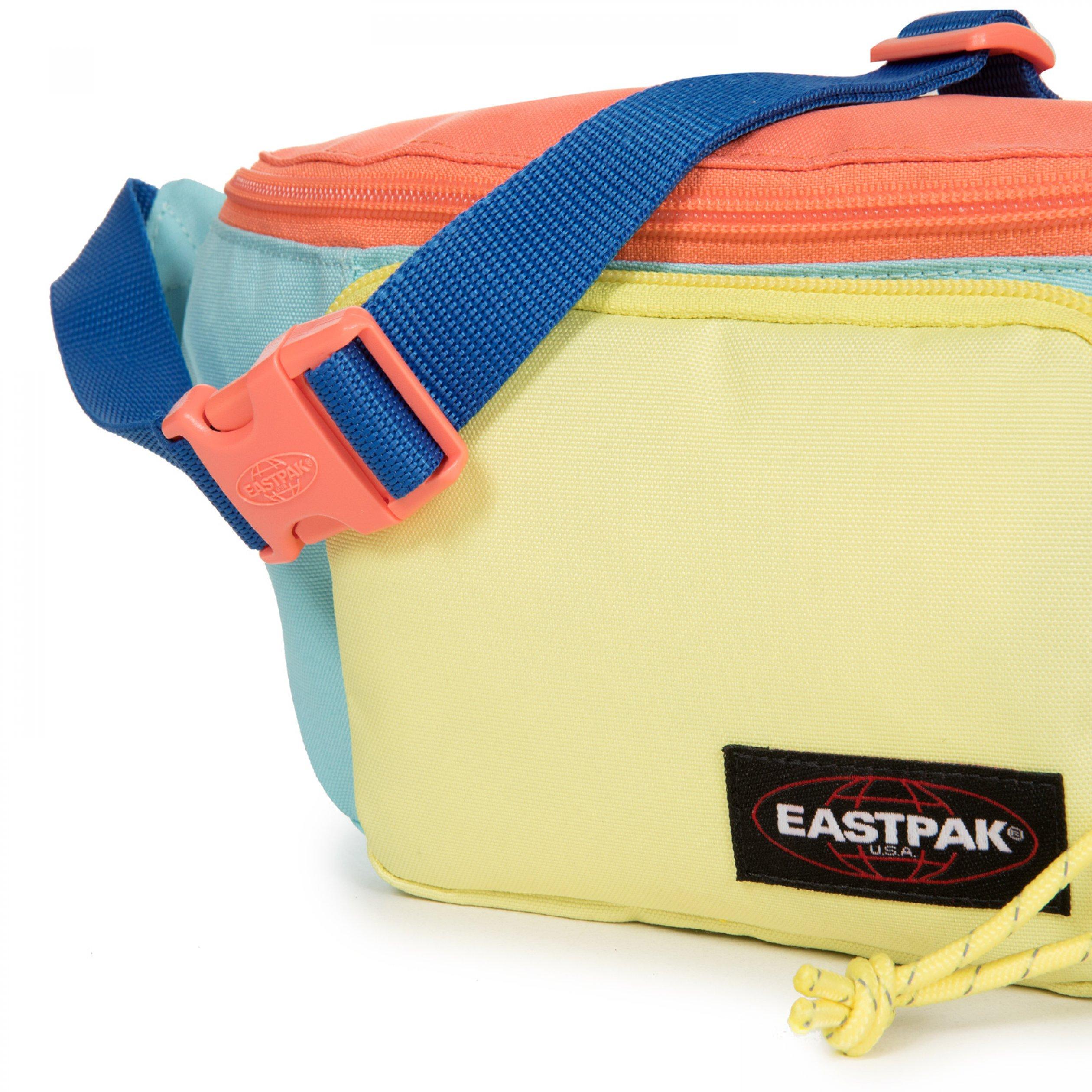 Eastpak Page Unisex Mavi-Sarı Bel Çantası