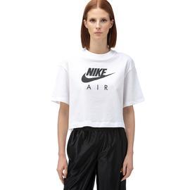 Nike Sportswear Air Top Kadın Beyaz Kısa Kollu T-Shirt