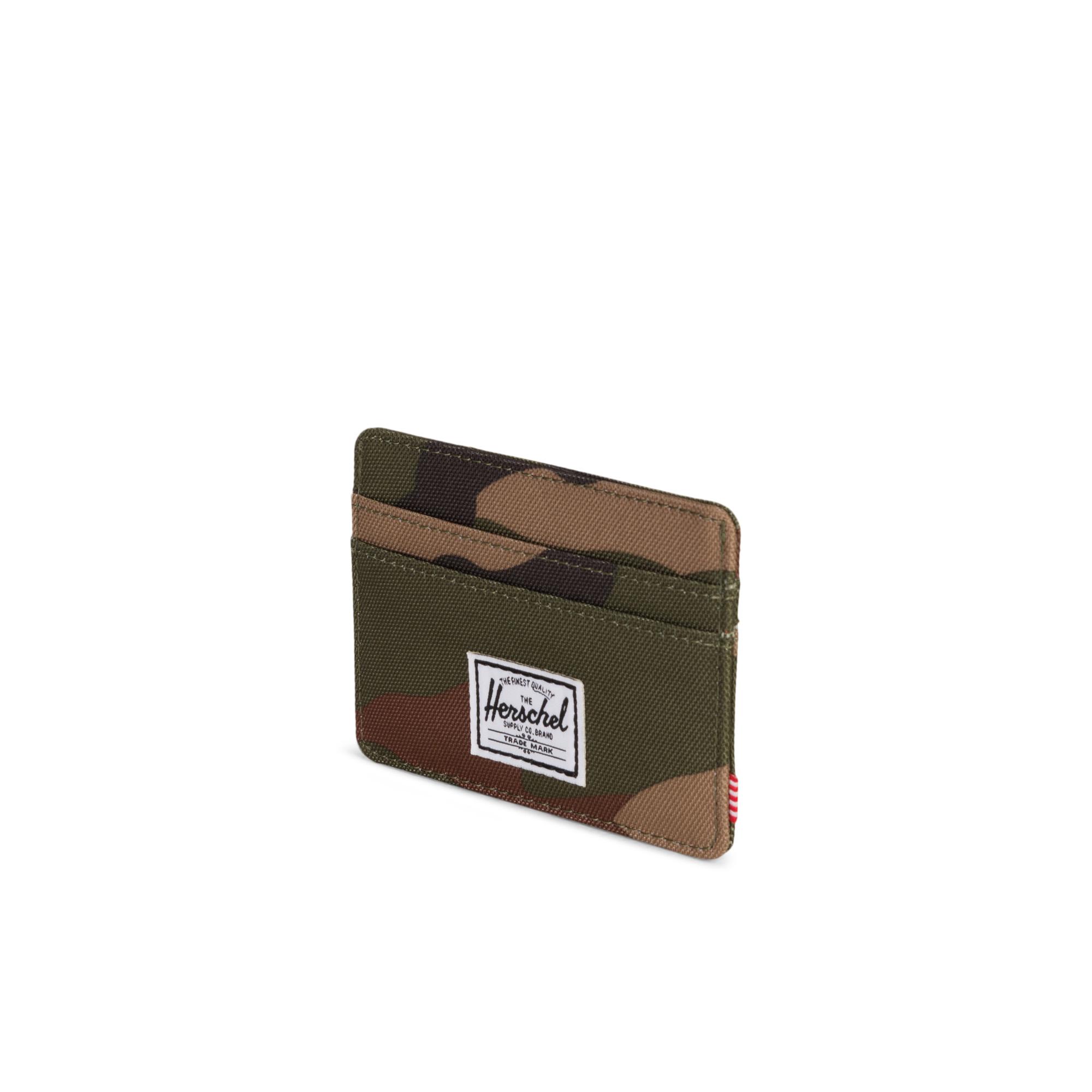 Herschel Charlie RFID Unisex Yeşil Kartlık