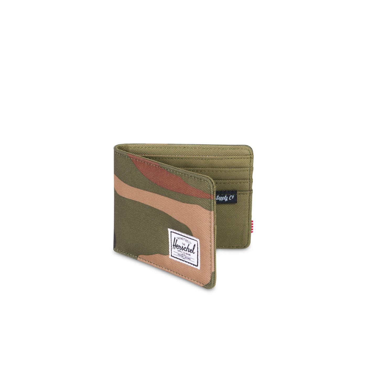 Herschel Roy RFID Camo Unisex Yeşil Cüzdan