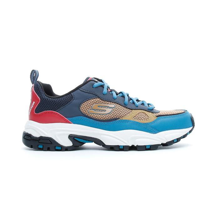 Skechers Stamina - Bluecoast Erkek Renkli Spor Ayakkabı