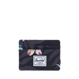 Herschel Charlie RFID Floral Unisex Siyah Cüzdan