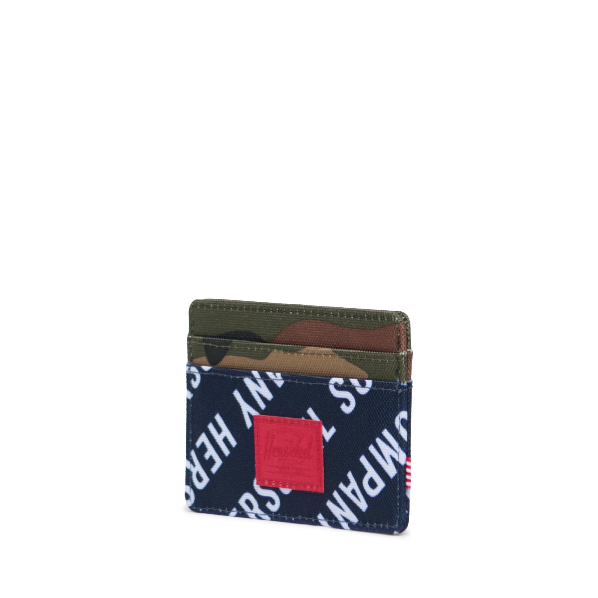 Herschel Charlie RFID Unisex Lacivert Cüzdan