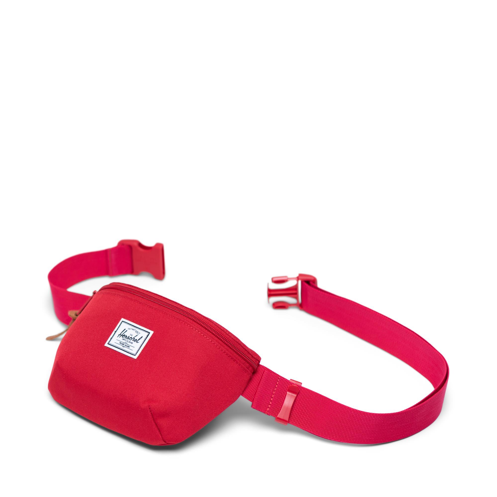 Herschel Fourteen Unisex Kırmızı Bel Çantası