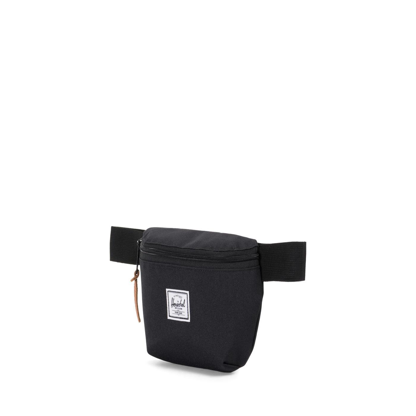 Herschel Fourteen Unisex Siyah Bel Çantası