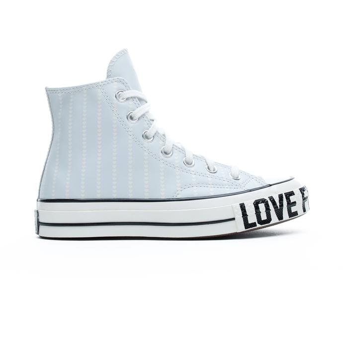 Converse Love Fearlessly Chuck 70 Hi Kadın Mavi Sneaker