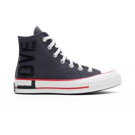 Converse Love Fearlessly Chuck 70 Hi Kadın Gri Sneaker