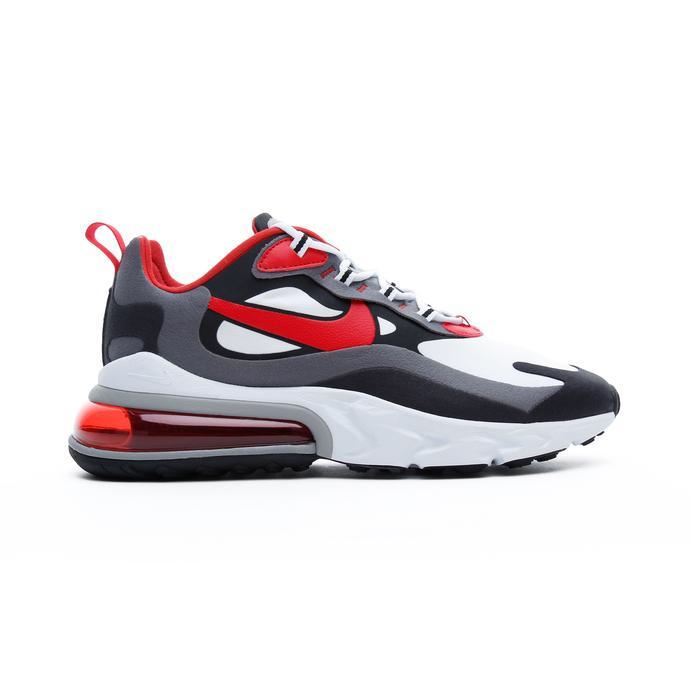 Nike Air Max 270 React Erkek Beyaz-Kırmızı Spor Ayakkabı