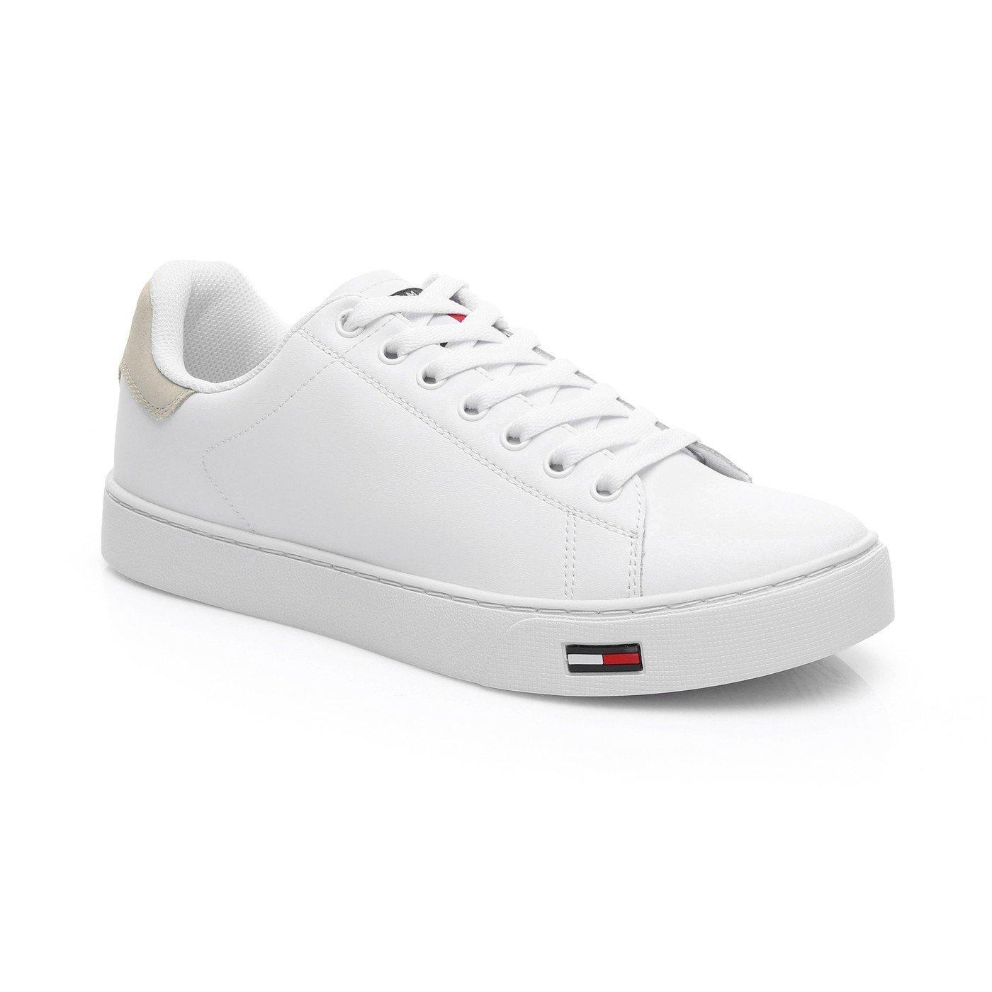 Tommy Hilfiger Essential Jean Erkek Beyaz Spor Ayakkabı