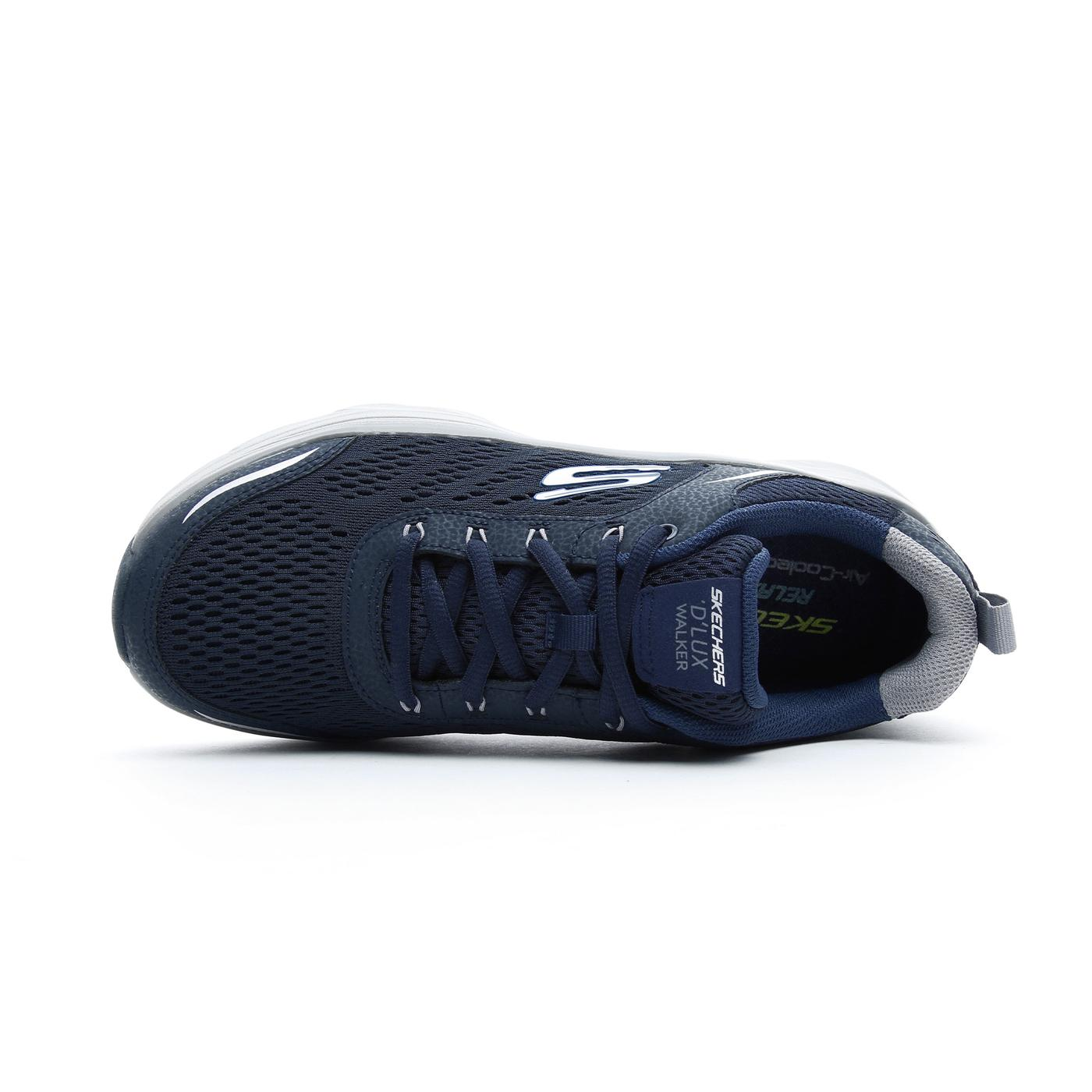 Skechers D'Lux Walker Erkek Lacivert Spor Ayakkabı