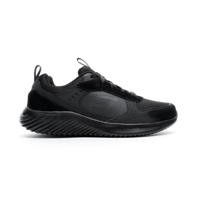 Skechers Bounder - Courthall Erkek Siyah Spor Ayakkabı