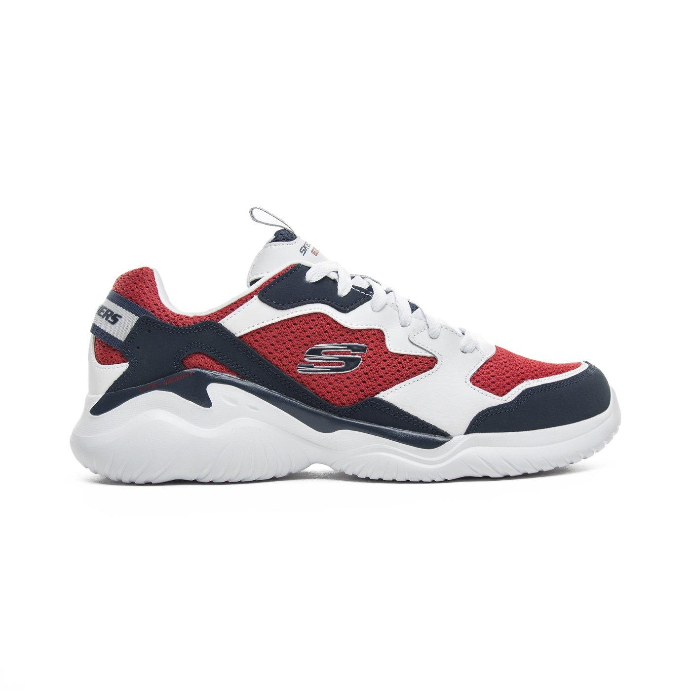 Skechers Falcore Erkek Kırmızı-Beyaz Spor Ayakkabı