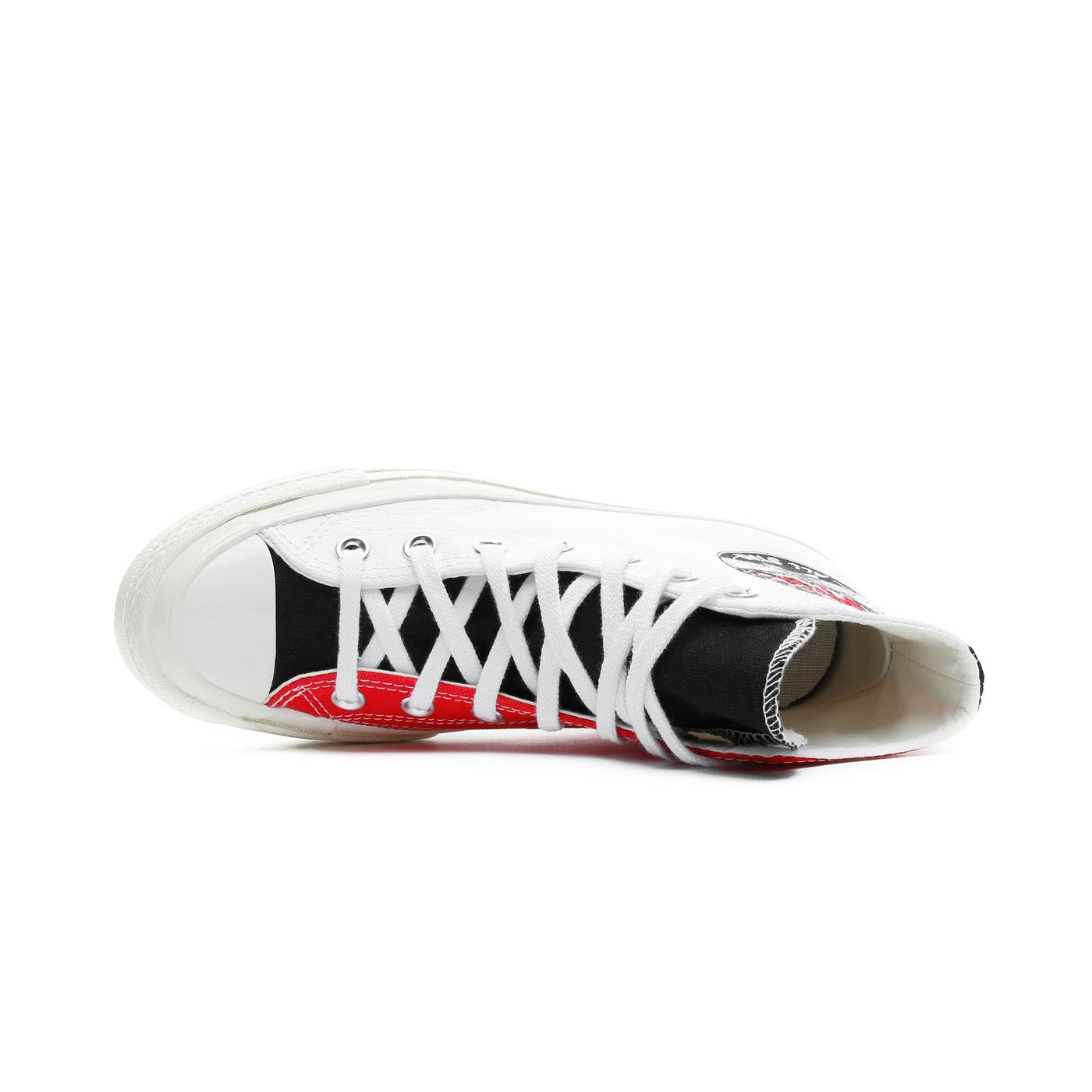 Converse Chuck 70 Hi Unisex Kırmızı-Beyaz Sneaker