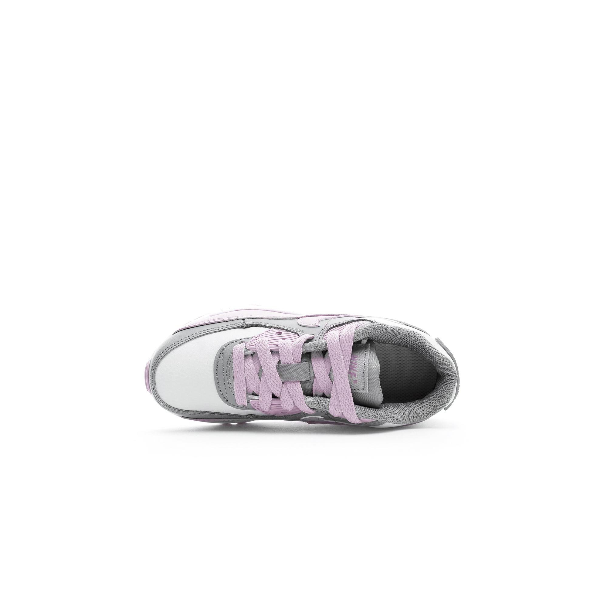 Nike Air Max 90 LTR Çocuk Pembe-Gri Spor Ayakkabı
