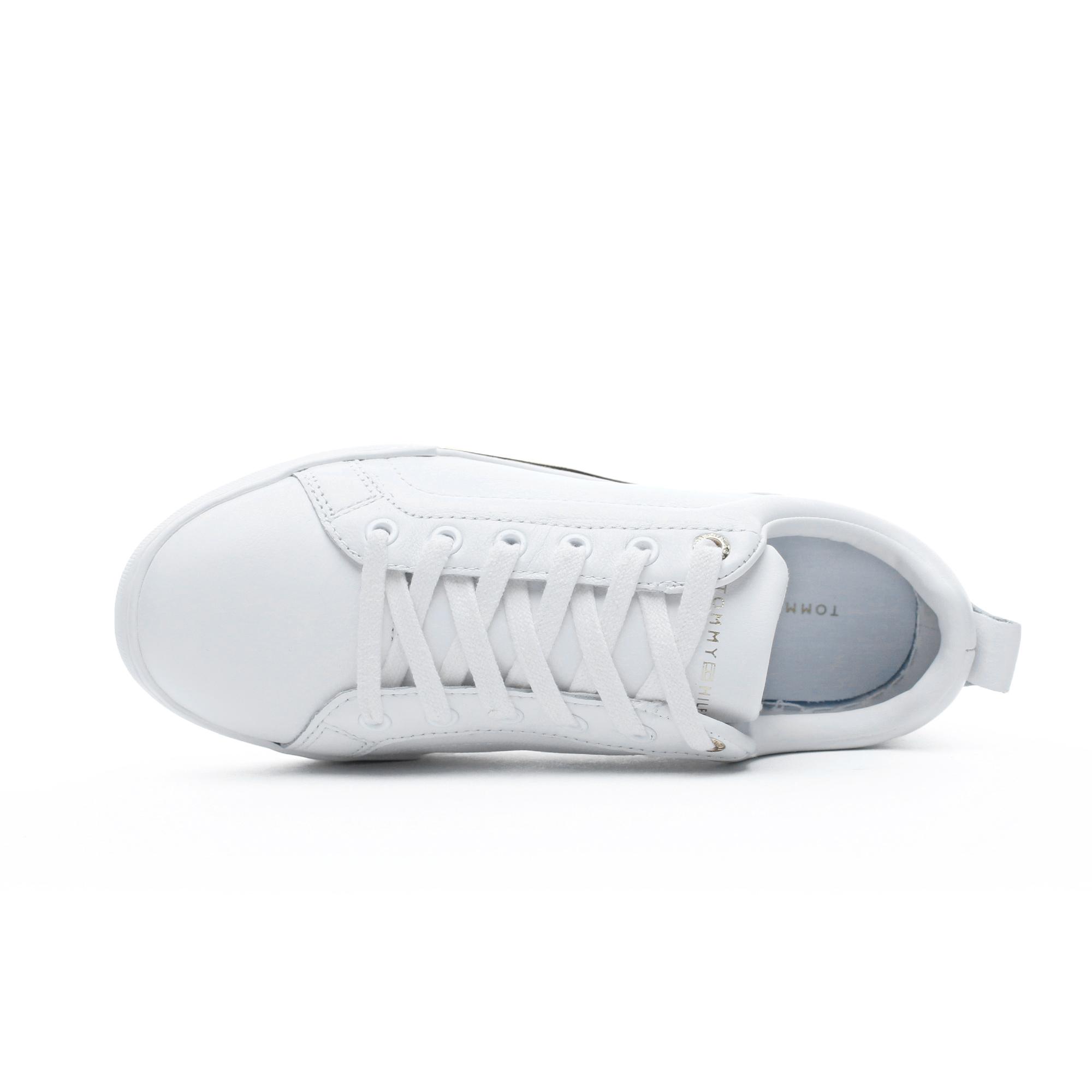 Tommy Hilfiger Metallic Kadın Beyaz Spor Ayakkabı