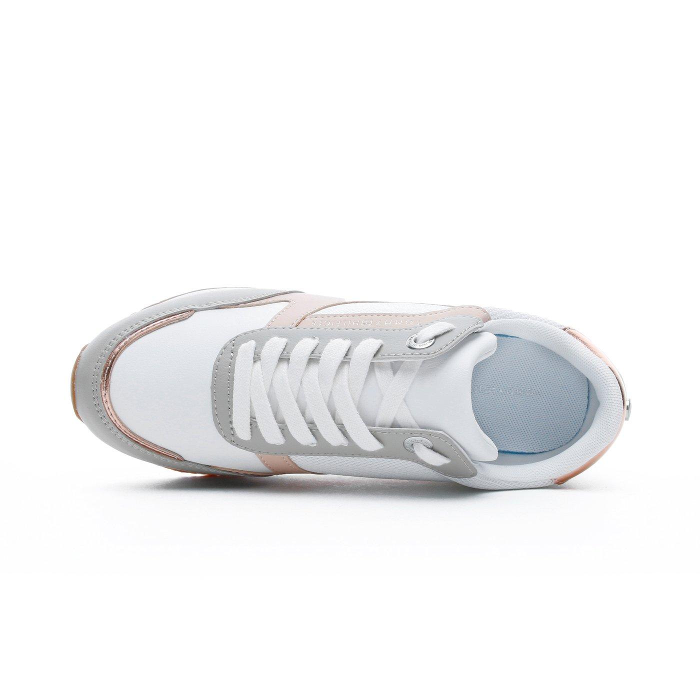 Tommy Hilfiger Monogram Kadın Kahverengi Spor Ayakkabı
