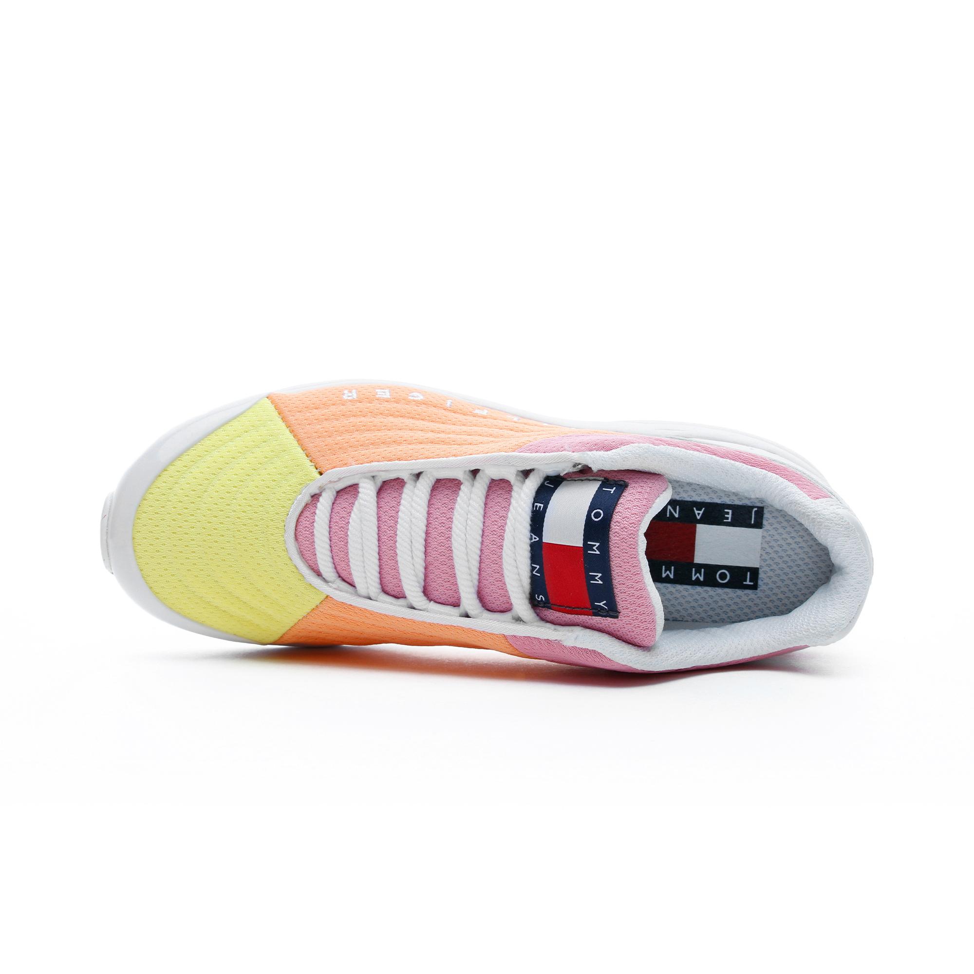 Tommy Hilfiger Heritage Kadın Sarı Spor Ayakkabı