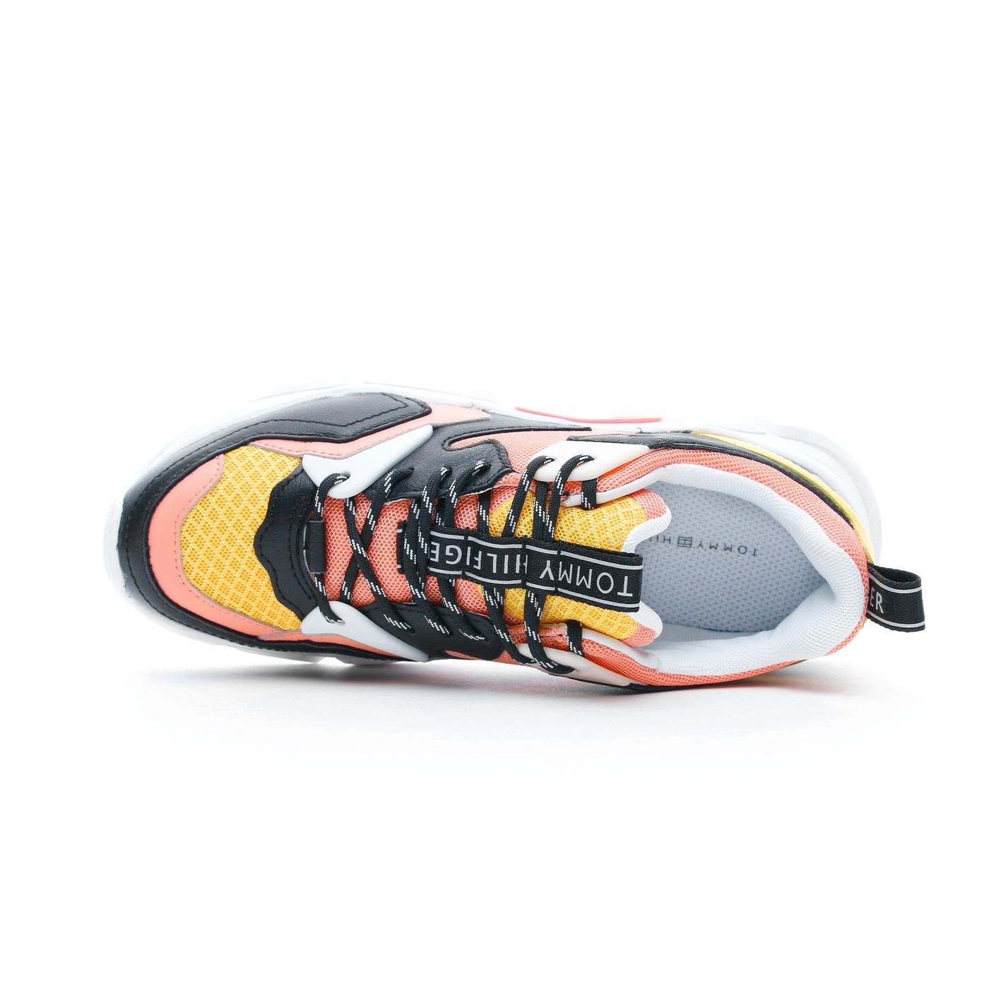 Tommy Hilfiger Chunky Lifestyle Kadın Pembe Spor Ayakkabı
