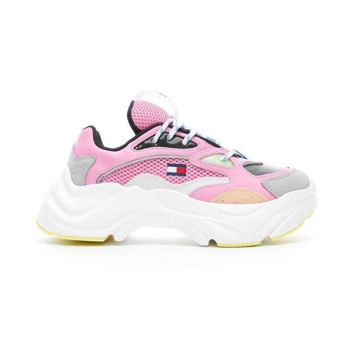 Tommy Hilfiger Fashion Chunky Kadın Pembe Spor Ayakkabı