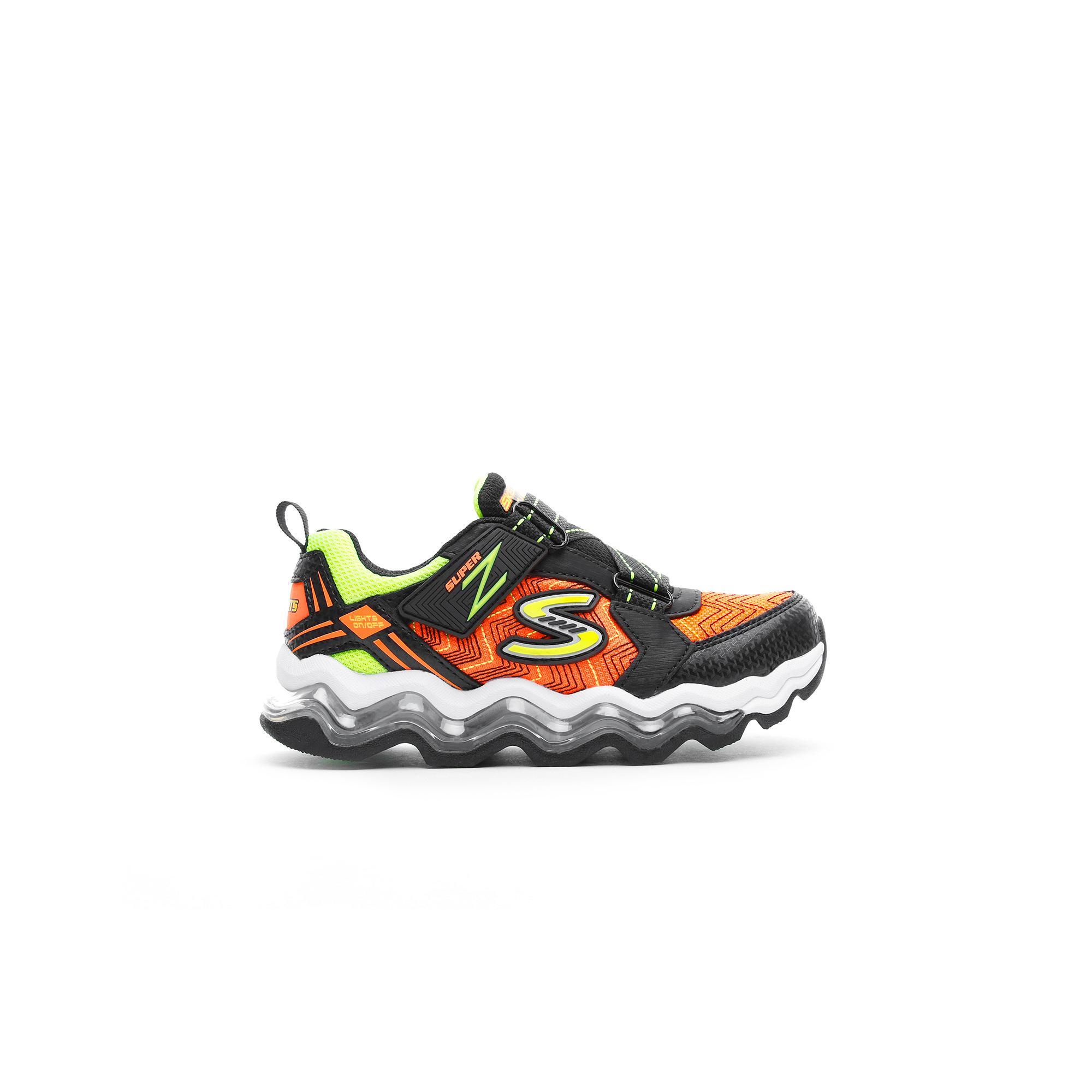 Skechers Turbowave - Tezert Çocuk Siyah Spor Ayakkabı