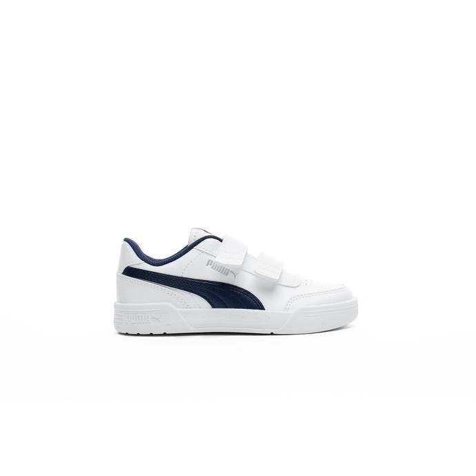Puma Caracal V Çocuk Beyaz Spor Ayakkabı