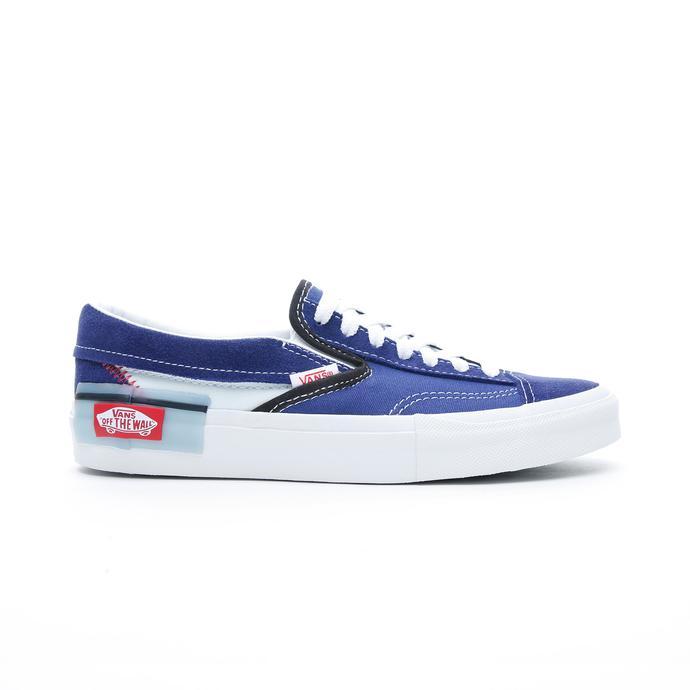 Vans Slip-On CAP Kadın Lacivert Sneaker