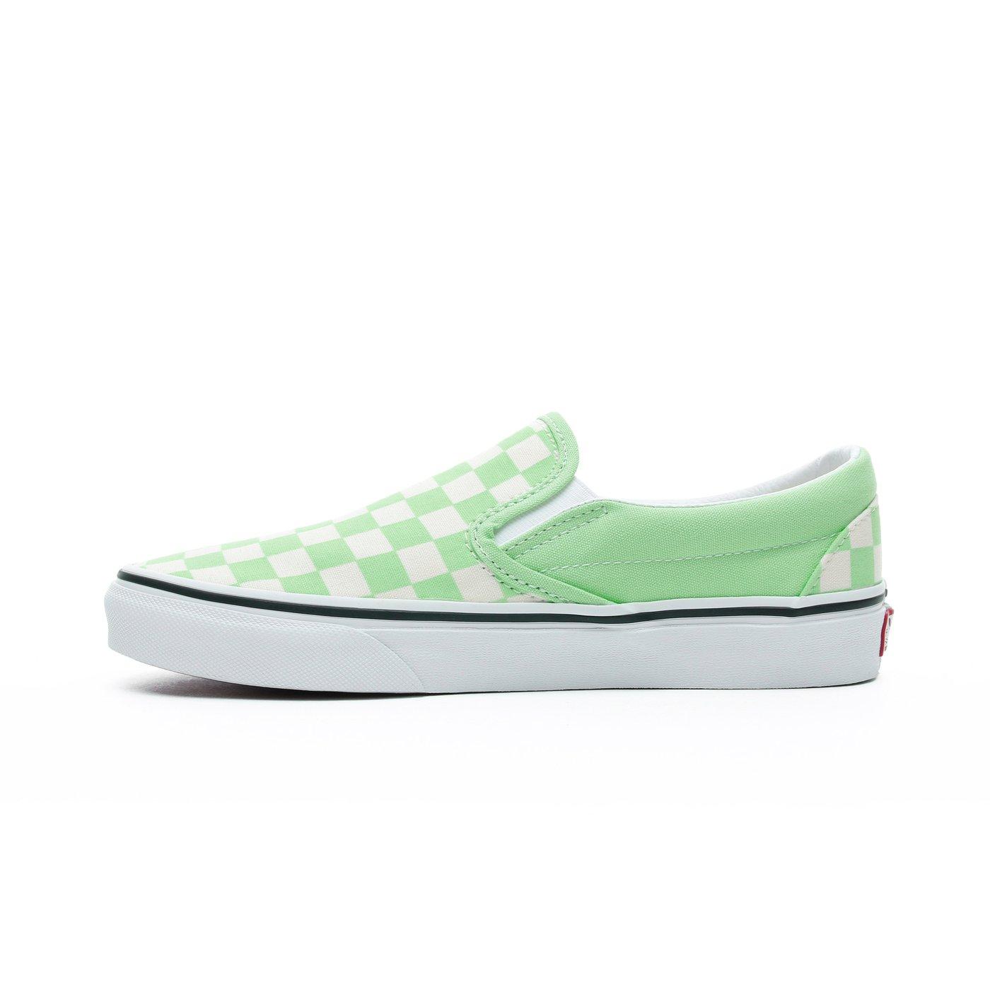 Vans Classic Slip-On Kadın Yeşil Sneaker