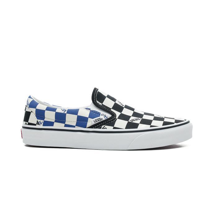 Vans Classic Slip-On Erkek Bej-Siyah Sneaker