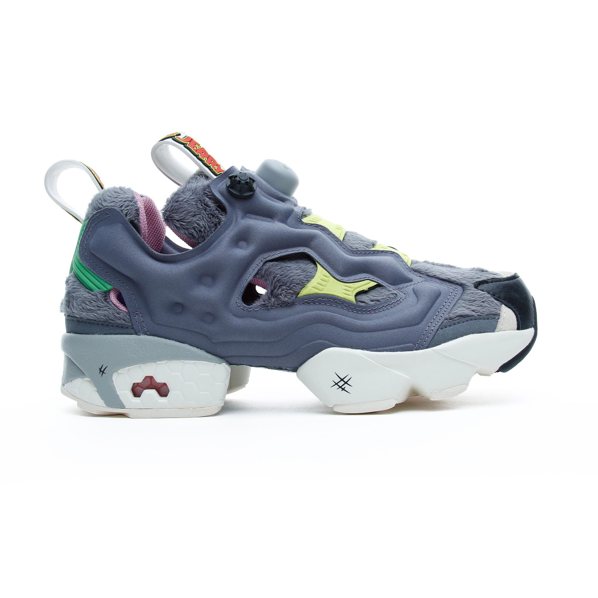 Reebok Tom ve Jerry Instapump Fury Kadın Gri Spor Ayakkabı