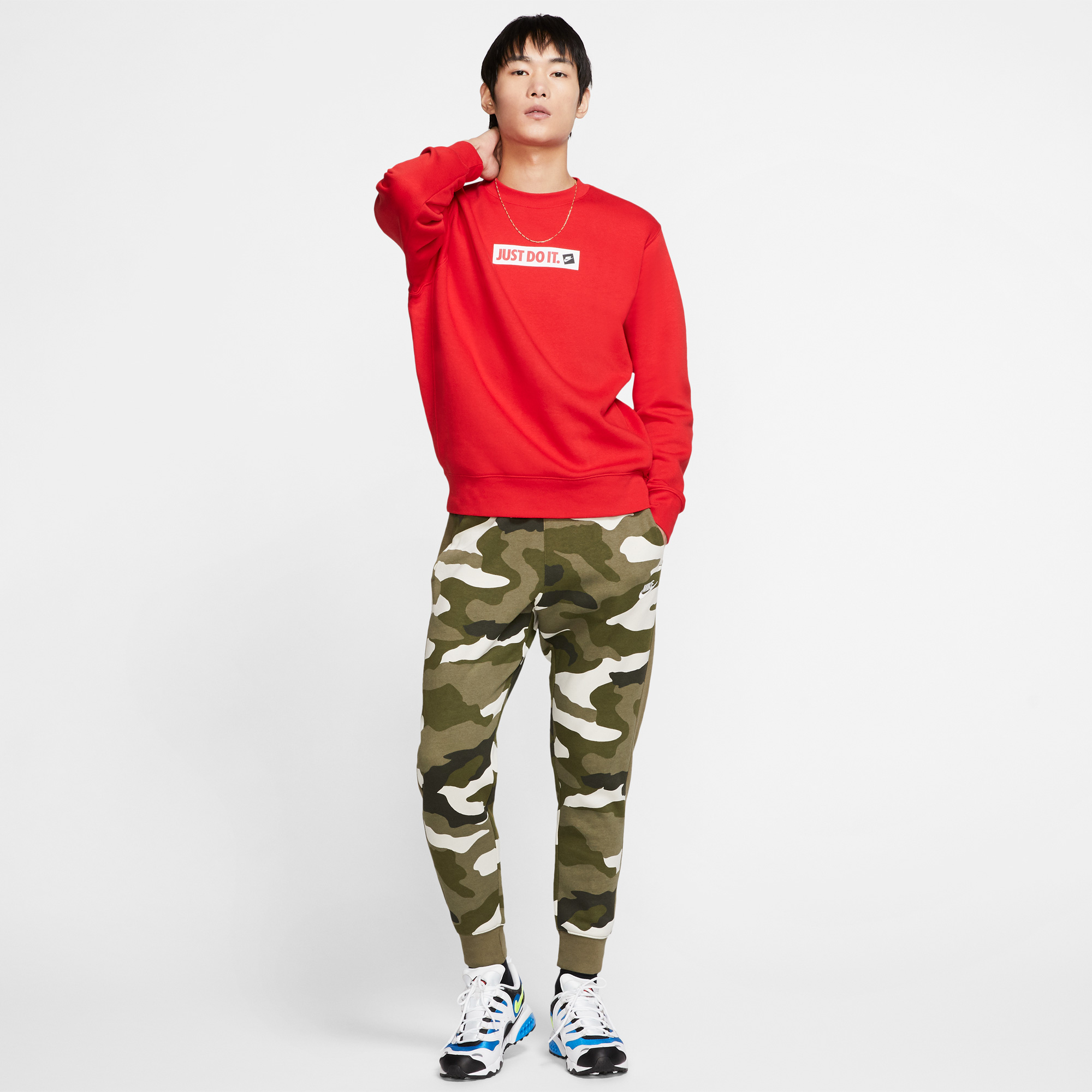 Nike Club Yeşil Erkek Eşofman Altı