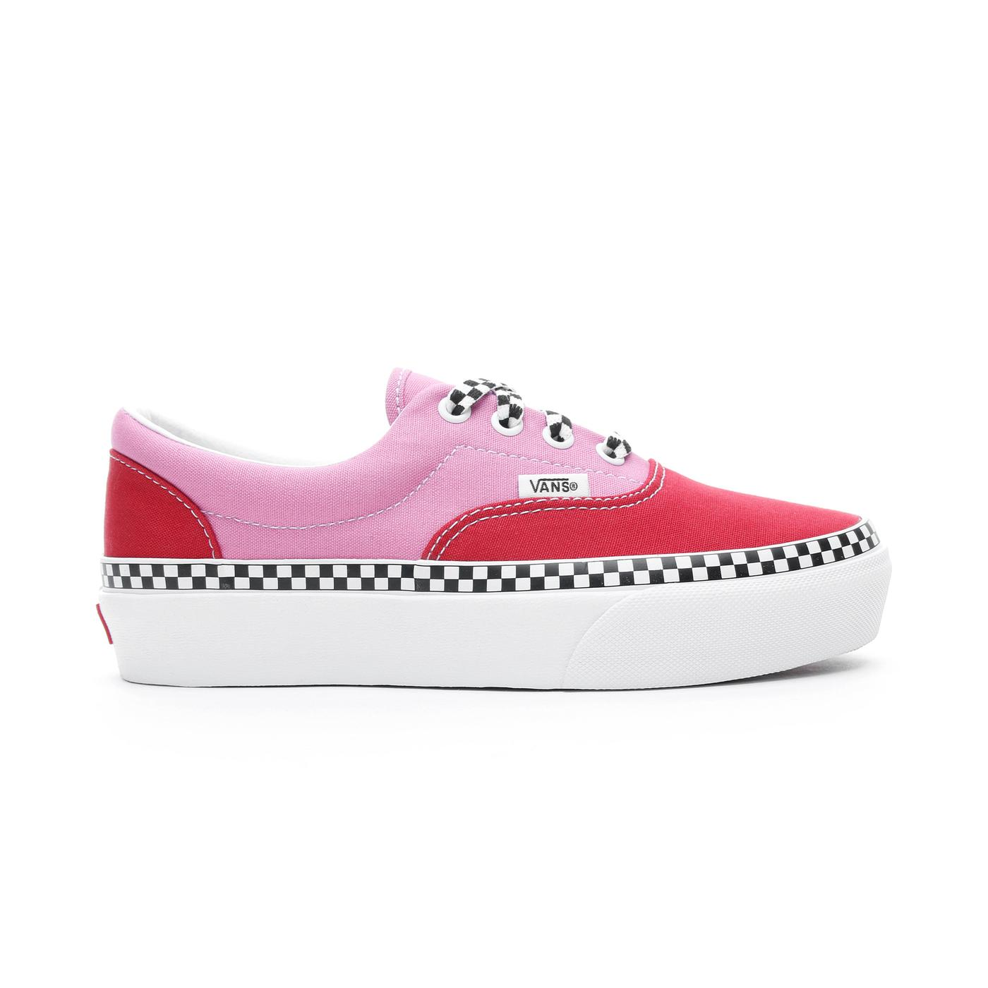 Vans Era Platform Kadın Pembe-Kırmızı Sneaker