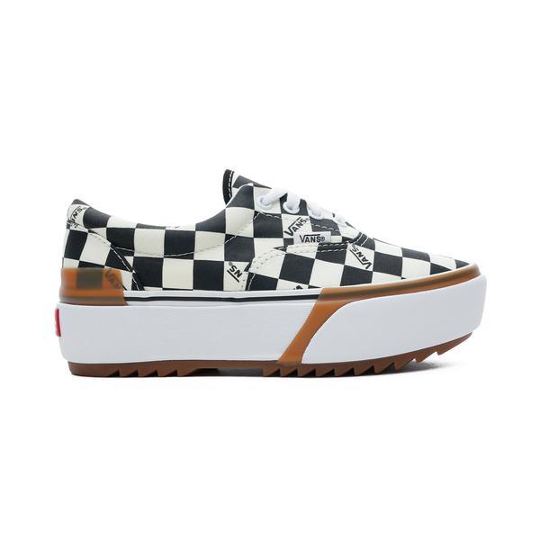 Vans Era Stacked Kadın Bej-Siyah Sneaker