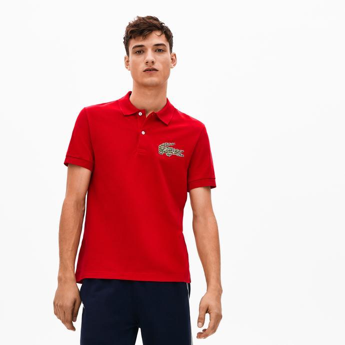 Lacoste Croco Magic Erkek Kırmızı Polo