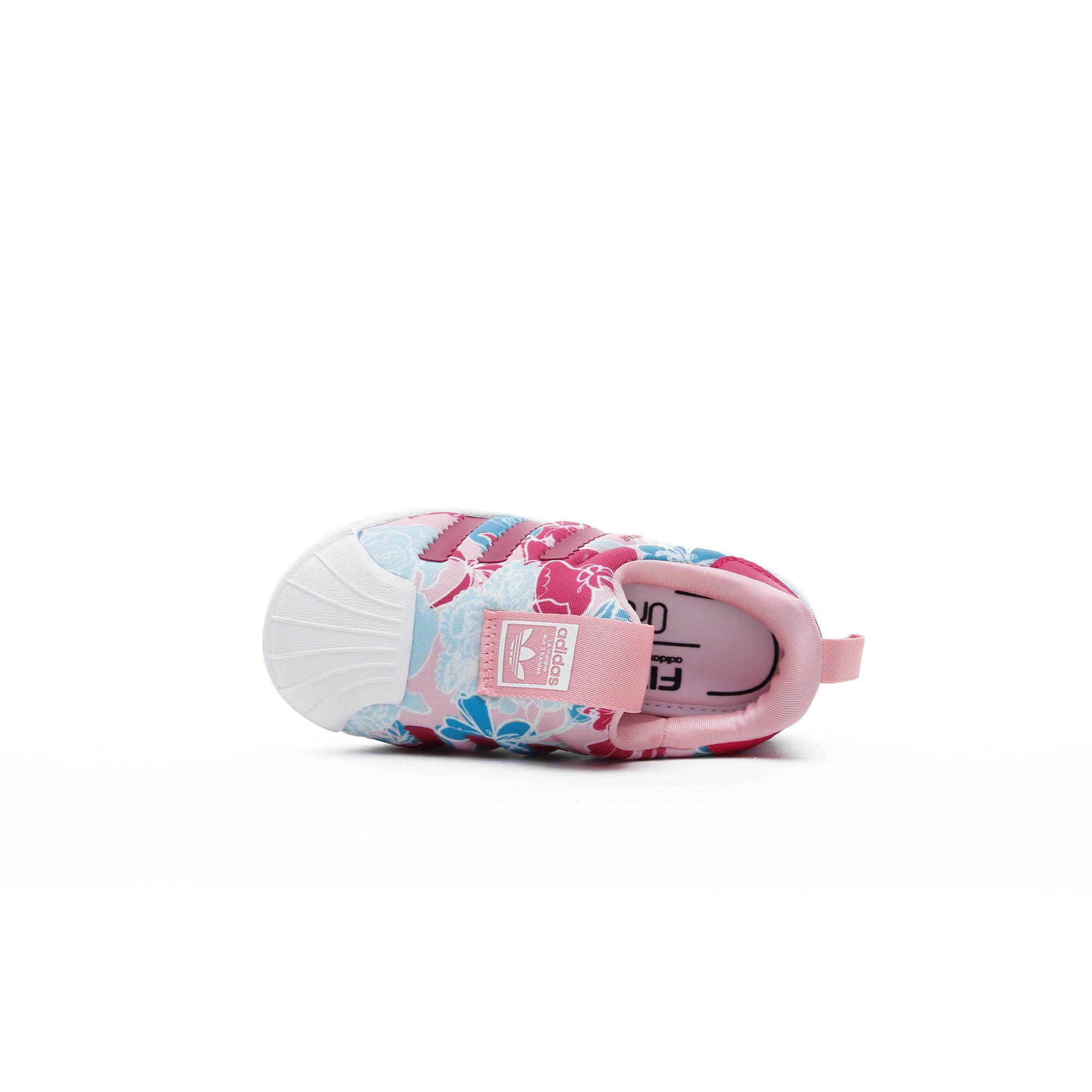 adidas Superstar 360 Bebek Pembe Spor Ayakkabı